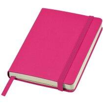Libreta A6 tapas lisas personalizada rosa