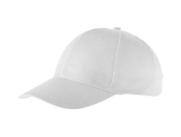 Gorra especial con 6 paneles para vestir personalizada blanca