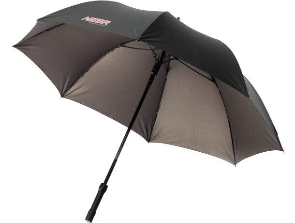 Paraguas con luz led grabado