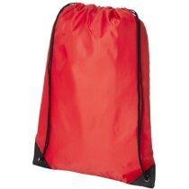 Mochila saco funcional con cuerdas personalizada roja