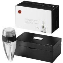 Aireador de vino profesional personalizado transparente