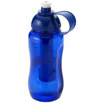 Bidón con barra enfriadora 500 ml personalizada azul
