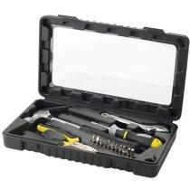 Set de herramientas de 15 piezas en acero personalizado negro intenso