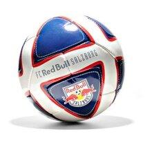 Balón de fútbol con diseño original en color azul y blanco