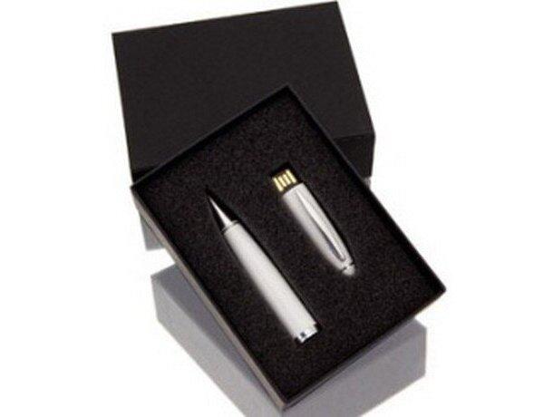Bolígrafo con memoria usb interna personalizada