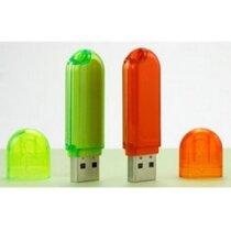 Memoria usb con tapa en plástico personalizada