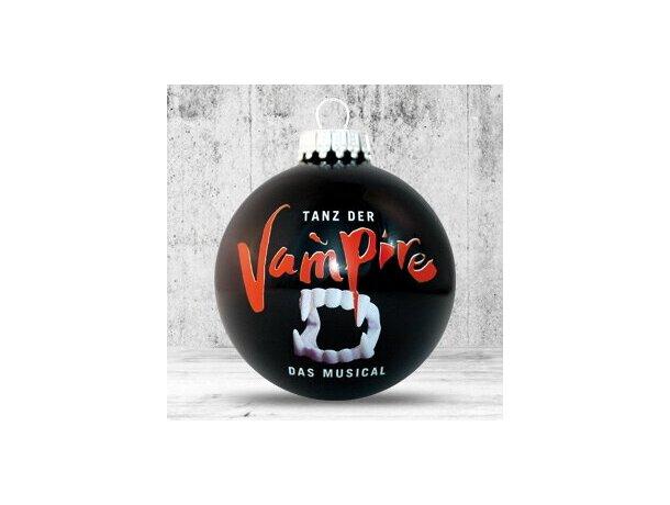 Bola de Navidad de 66 mm de diámetro negra