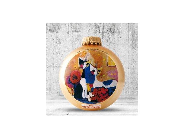 Bolas de Navidad de 57 mm dorada