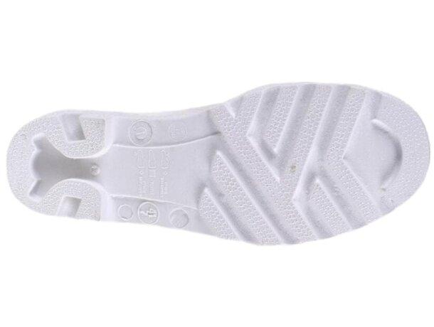 Bota protección blanco