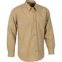 Camisa de manga larga con bolsillo personalizada