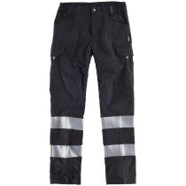 Pantalon fluor negro