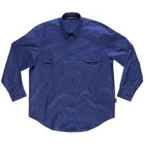 Camisa básicos azulina