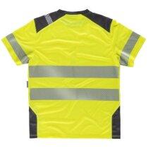 Camiseta fluor amarillo a.v. gris oscuro