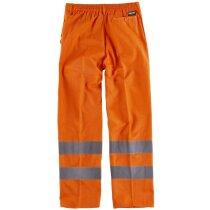 Pantalon fluor naranja a.v.