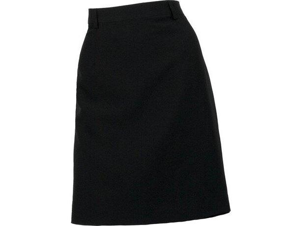 Falda de estilo recto sin bolsillos para hostelería
