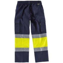 Pantalon fluor marino amarillo a.v.