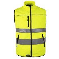Chaleco de seguridad en varios tamaños personalizado amarillo