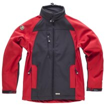 Workshell sport negro rojo