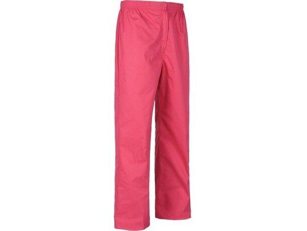 Pantalón de algodón liso recto personalizado rosa