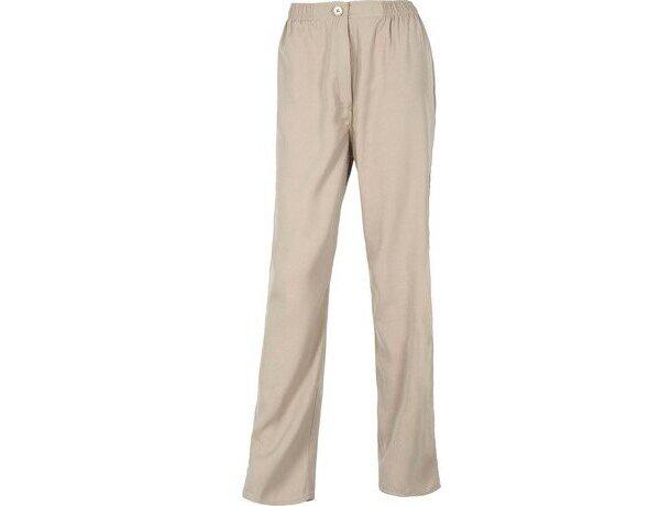 Pantalón liso de poliester en varios colores