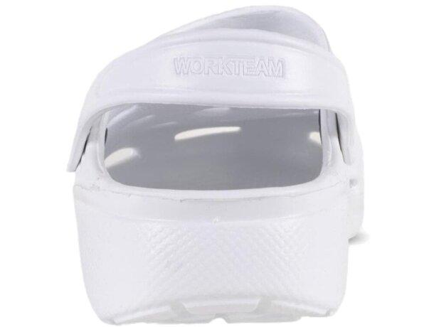 Zueco ultraligero y cómodo blanco