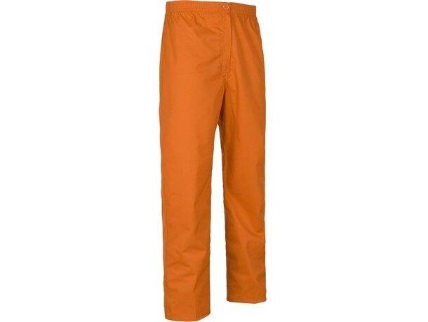 Pantalón de algodón liso recto
