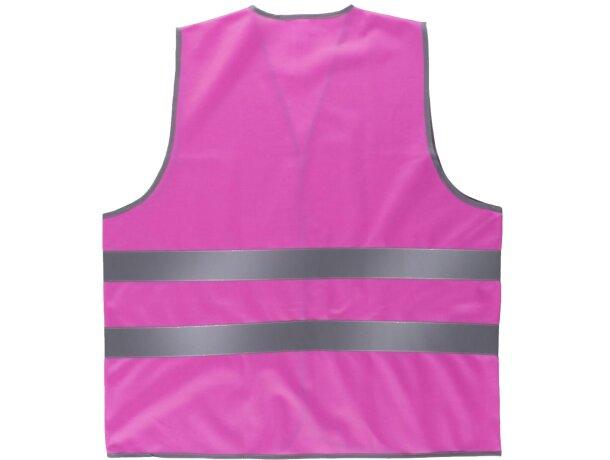 Chaleco fluor rosa fucsia