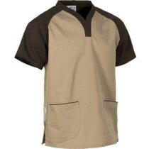 Casaca bicolor en manga corta personalizada