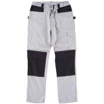 Pantalon future gris claro negro