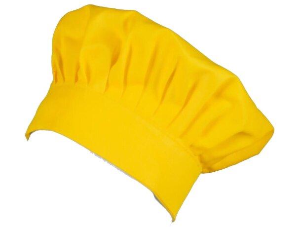 Gorro servicios amarillo