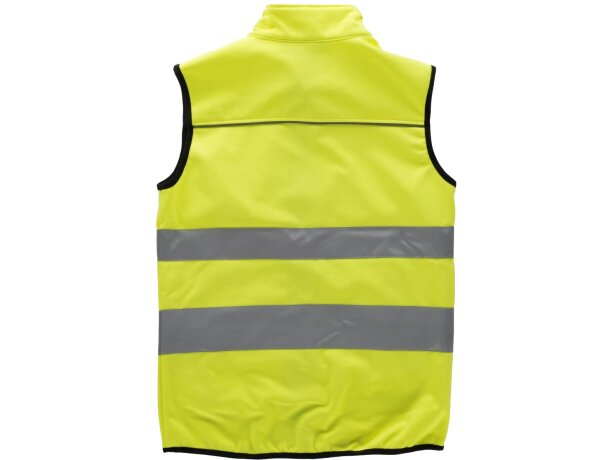 Chaleco de seguridad en varios tamaños amarillo a.v.