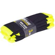 Calcetines protección negro amarillo a.v.
