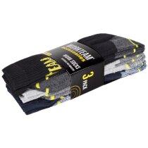 Calcetines protección negro marino gris claro