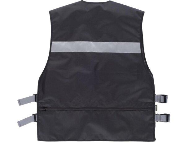 Chaleco de seguridad con multolsillos negro