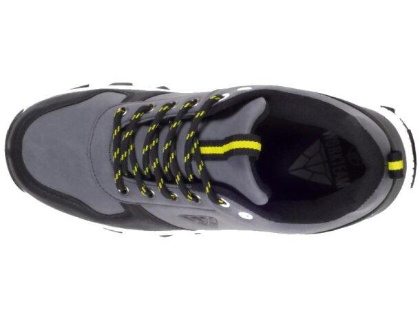 Zapatilla protección gris negro
