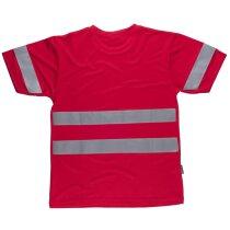 Camiseta fluor rojo