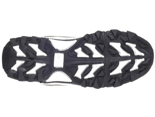 Zapatilla protección marron negro