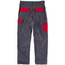 Pantalon future gris rojo