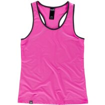 Camiseta servicios rosa flúor