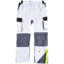 Pantalon future blanco negro gris oscuro
