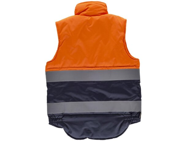 Chaleco fluor naranja a.v. marino