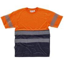 Camiseta combinada con detalles de alta visibilidad