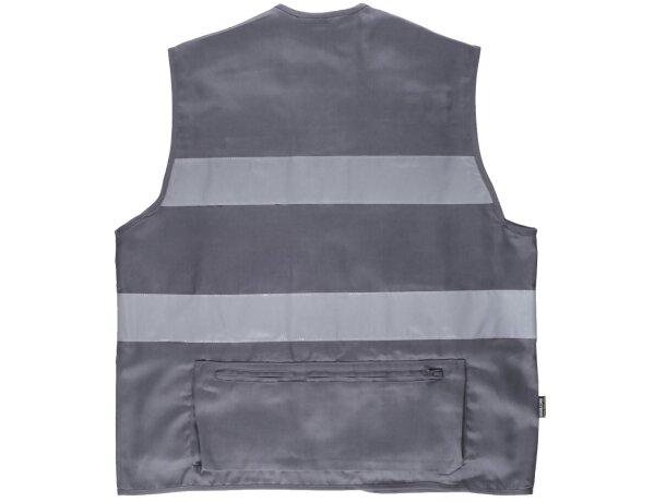 Chaleco fluor gris