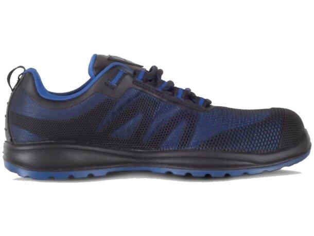 Zapato protección azulina negro