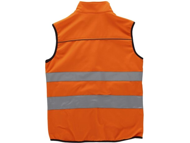 Chaleco de seguridad en varios tamaños naranja a.v.