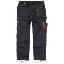 Pantalon future negro naranja a.v.