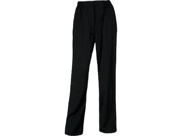 Pantalón liso de poliester en varios colores personalizado negro