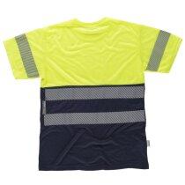 Camiseta fluor marino amarillo a.v.