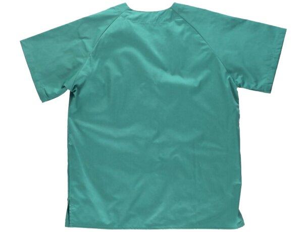 Casaca lisa en manga corta verde