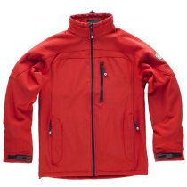 Workshell sport rojo